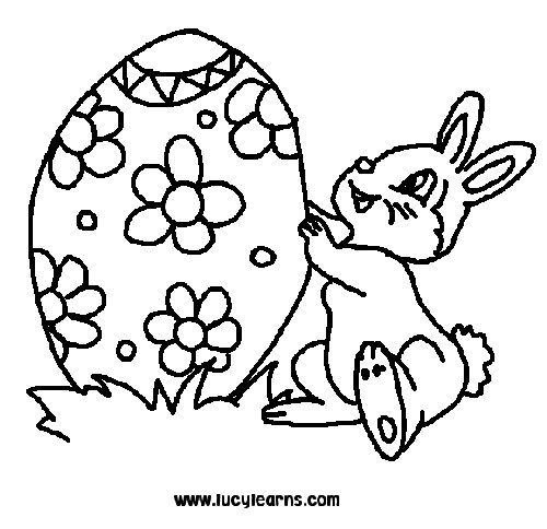 Easter Egg Colouring Pages 118