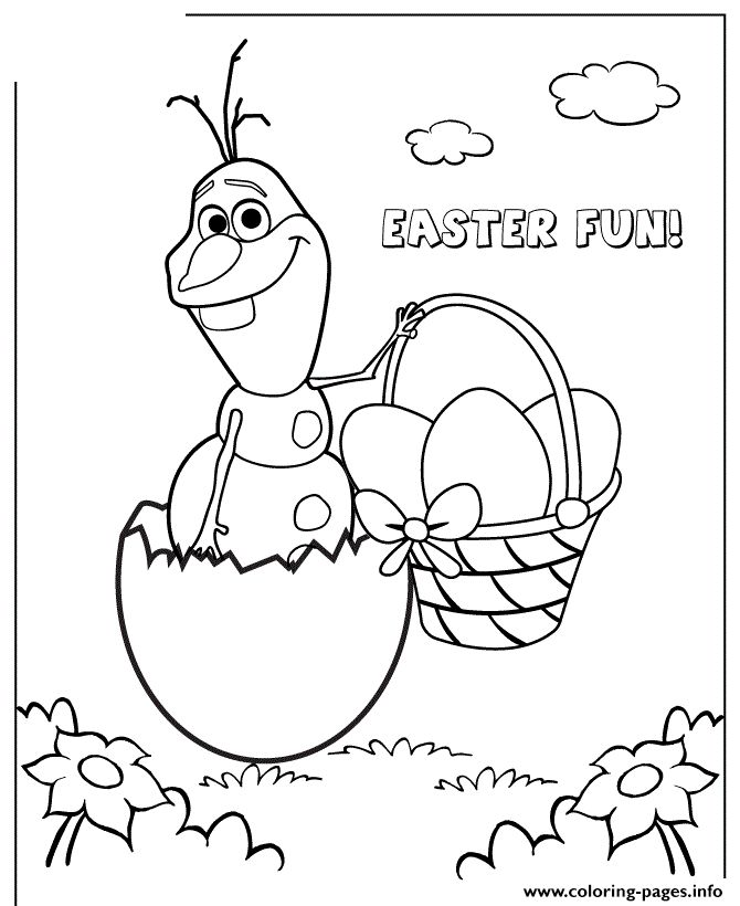 Easter Egg Colouring Pages 124