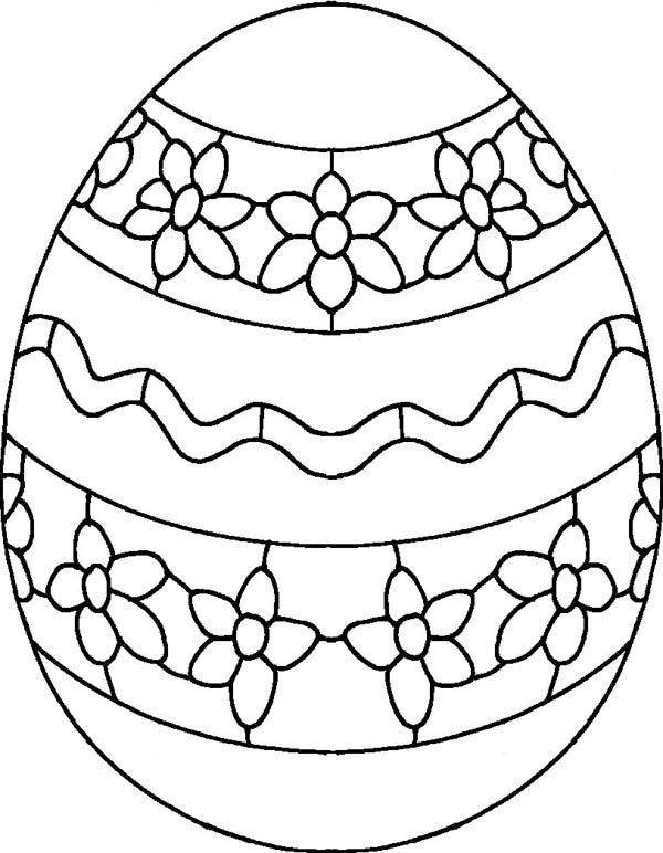 Easter Egg Colouring Pages 17