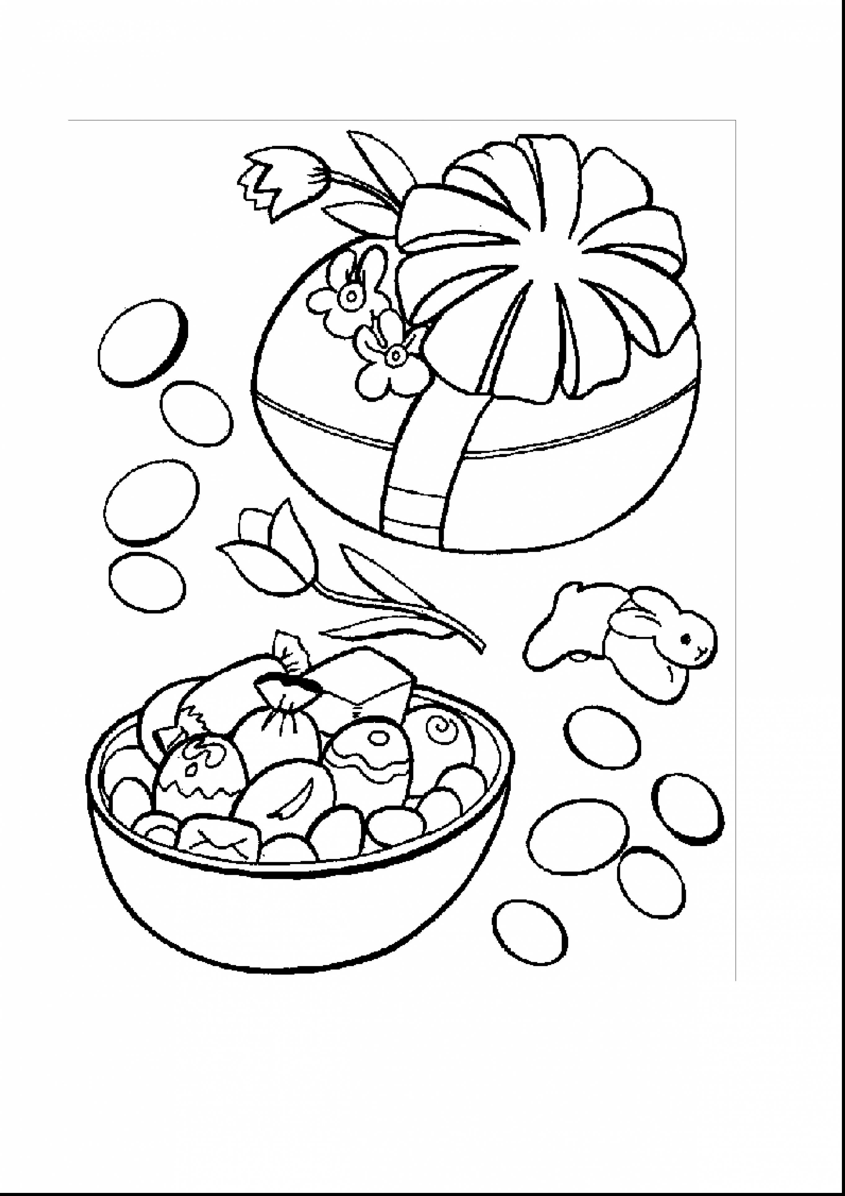 Easter Egg Colouring Pages 2