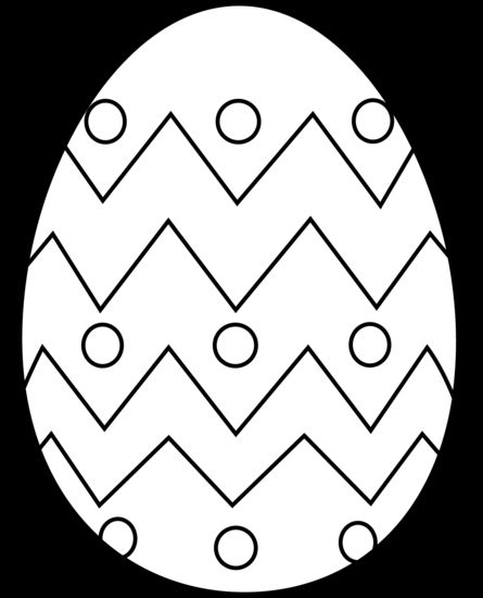 Easter Egg Colouring Pages 21