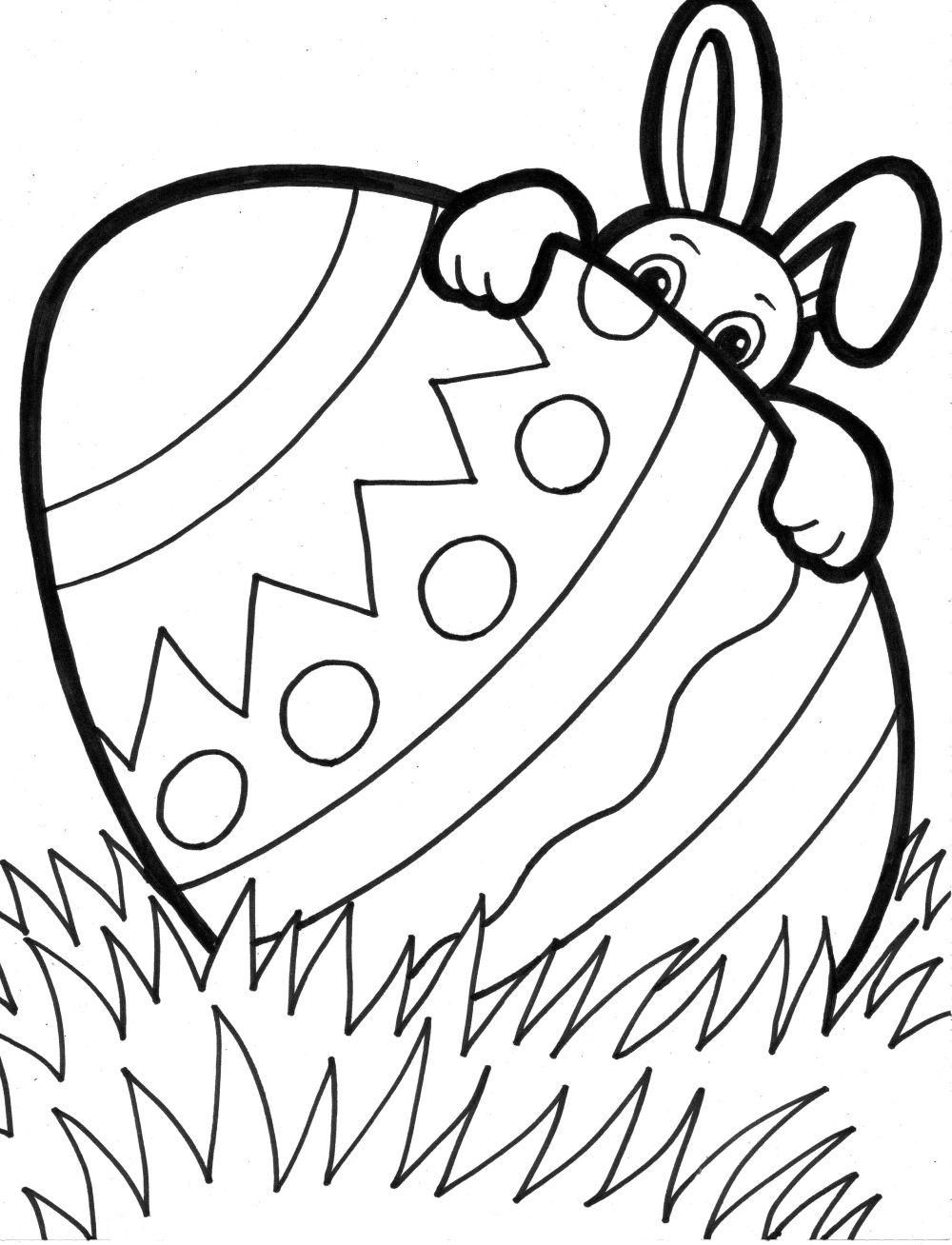 Easter Egg Colouring Pages 23