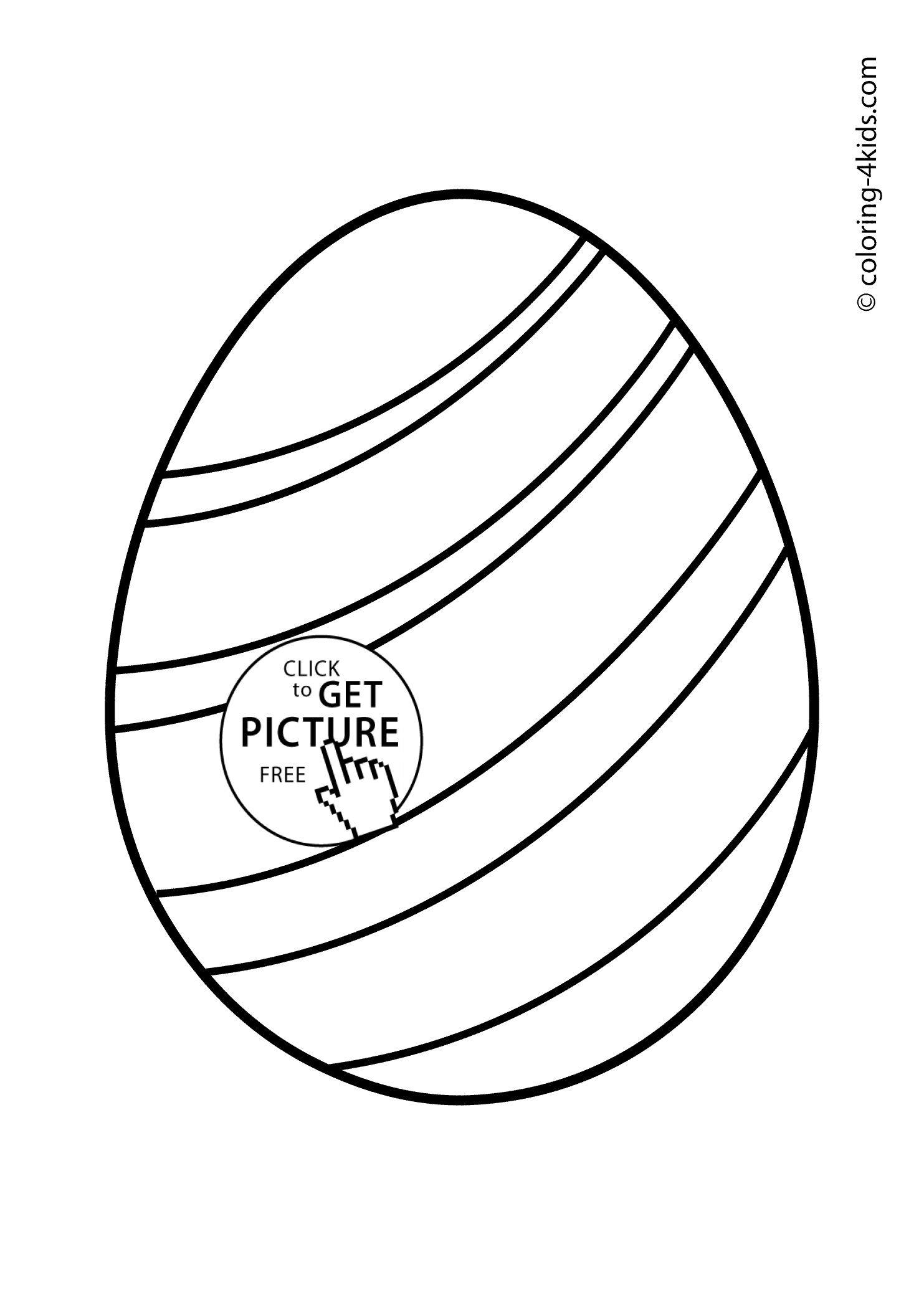 Easter Egg Colouring Pages 26