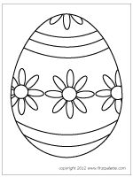 Easter Egg Colouring Pages 29