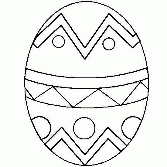 Easter Egg Colouring Pages 30