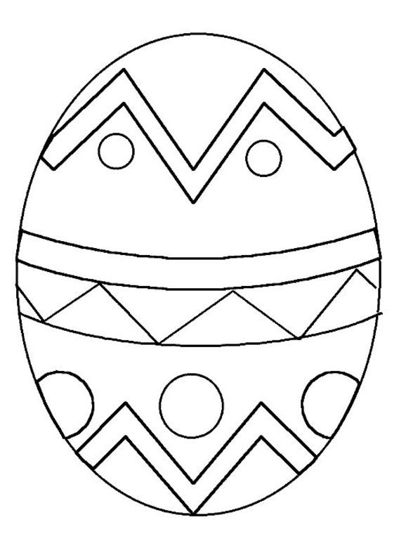 Easter Egg Colouring Pages 35