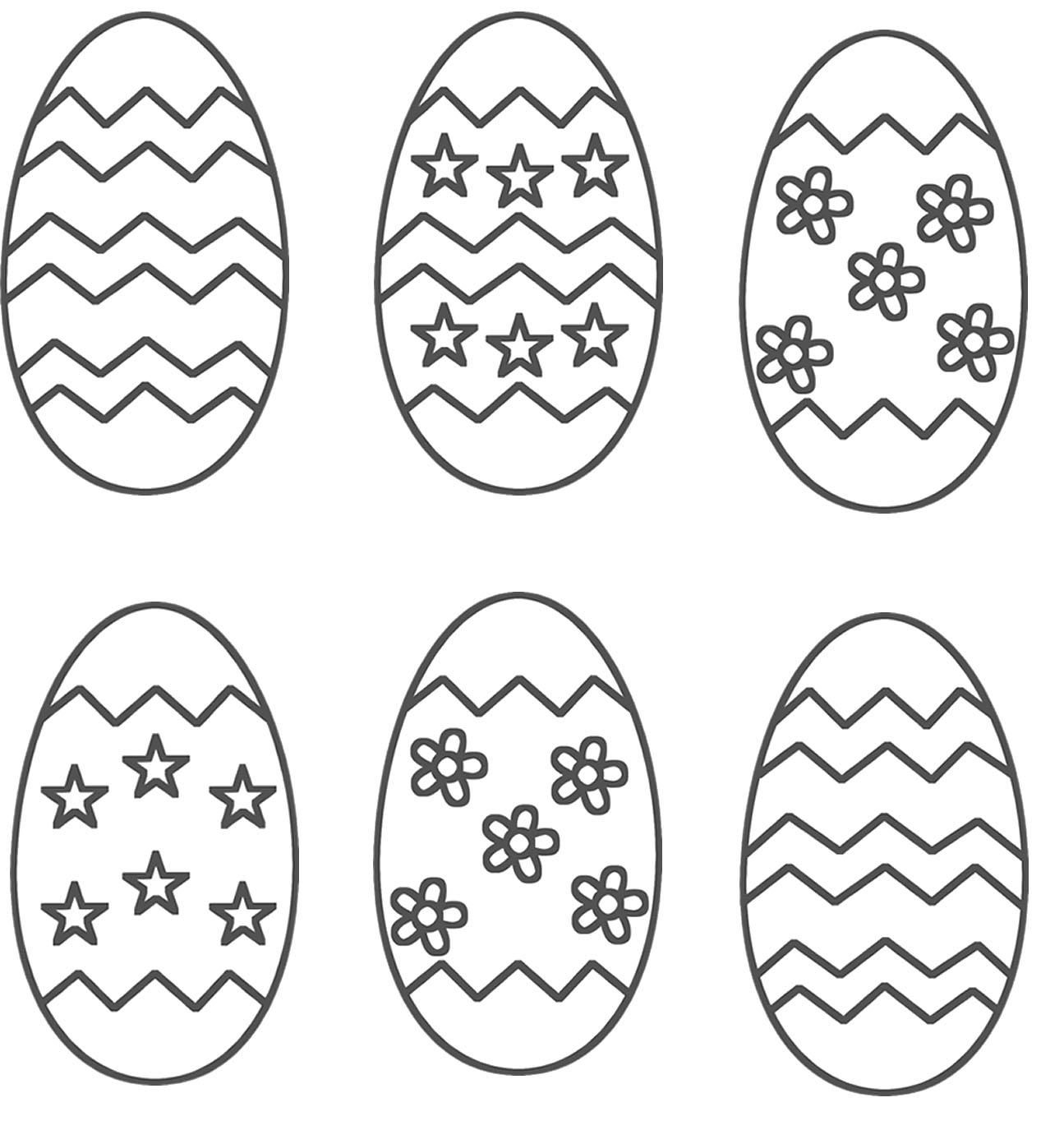 Easter Egg Colouring Pages 41