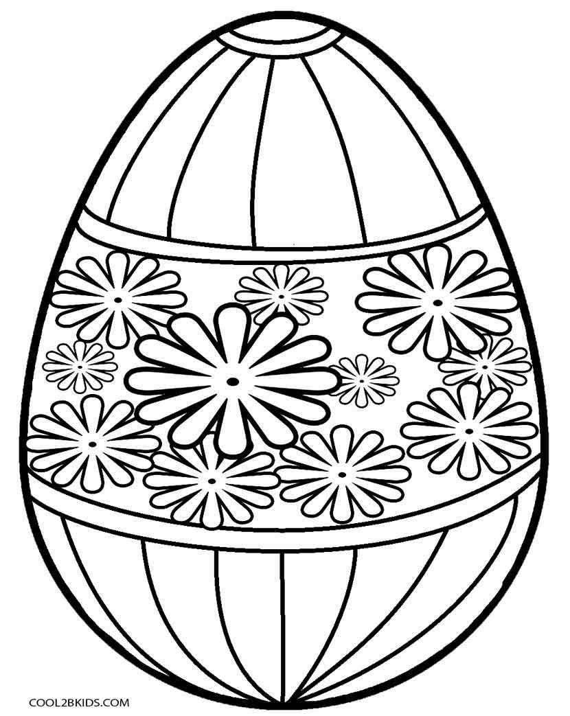 Easter Egg Colouring Pages 42