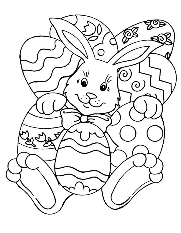 Easter Egg Colouring Pages 53