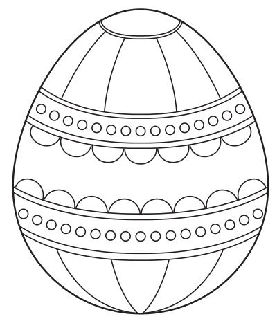 Easter Egg Colouring Pages 58
