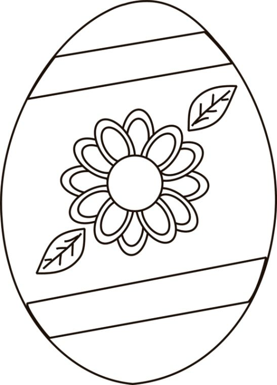 Easter Egg Colouring Pages 71