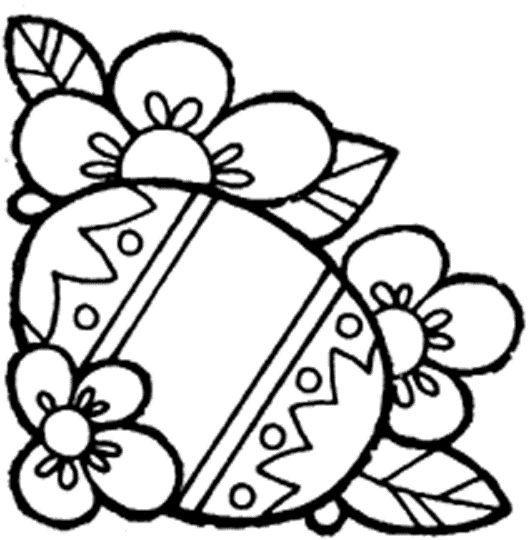 Easter Egg Colouring Pages 72