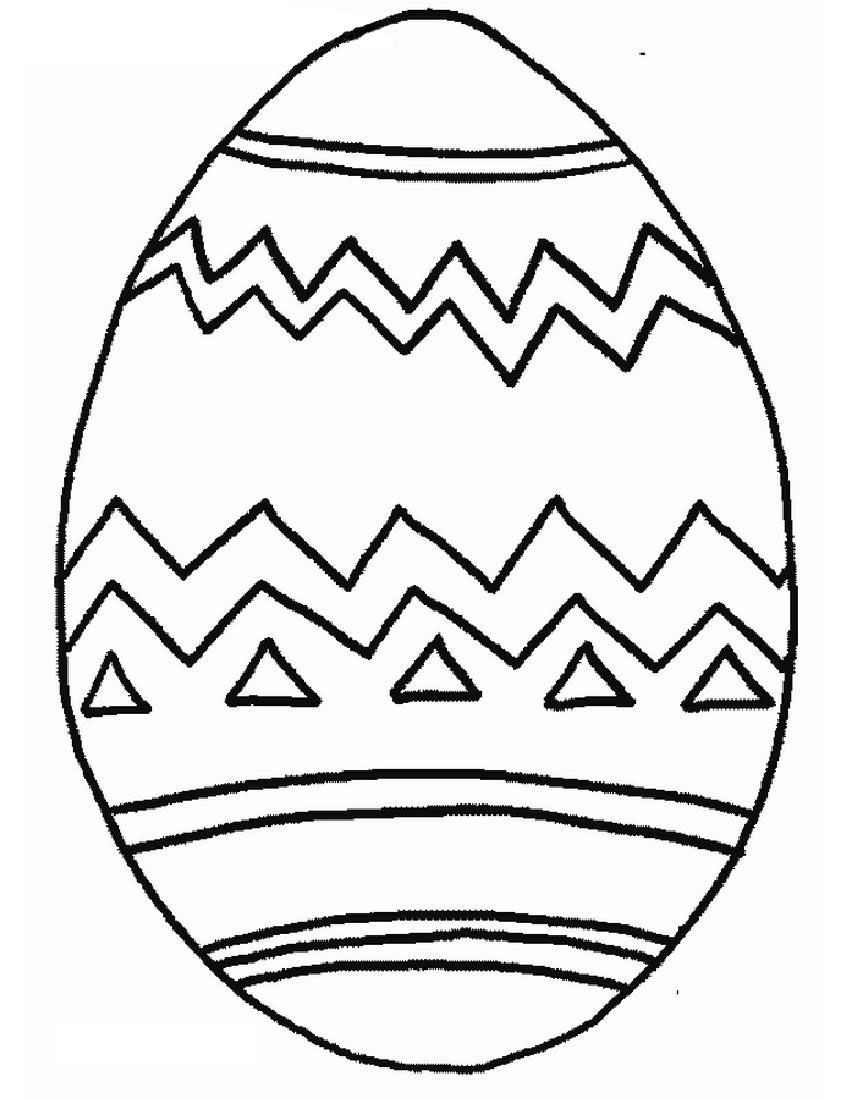 Easter Egg Colouring Pages 85