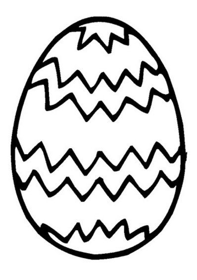 Easter Egg Colouring Pages 86