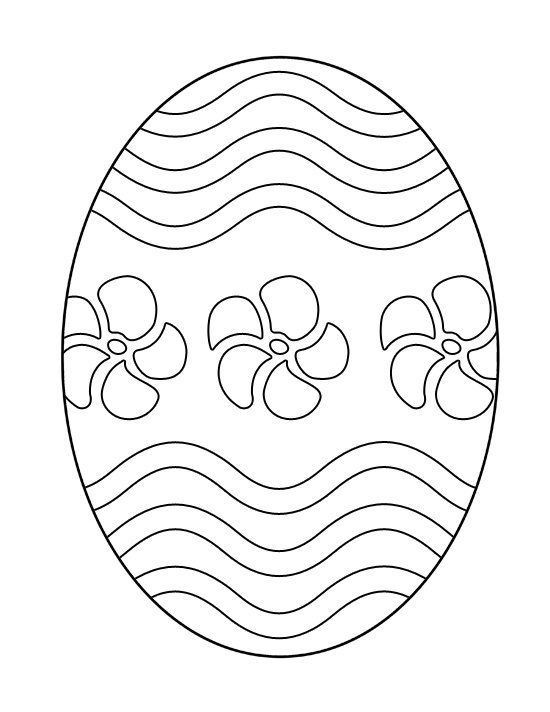 Easter Egg Colouring Pages 94