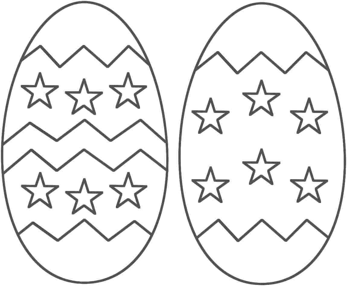 Easter Egg Colouring Pages 99