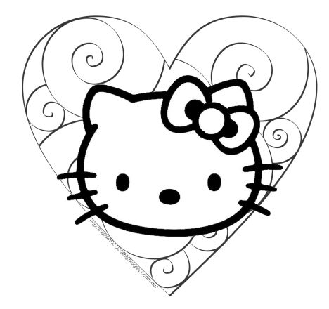 Hello Kitty Christmas Coloring Pages 31