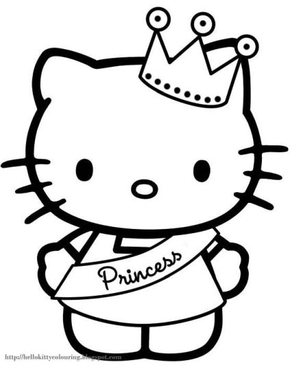 hello kitty christmas coloring pages 33