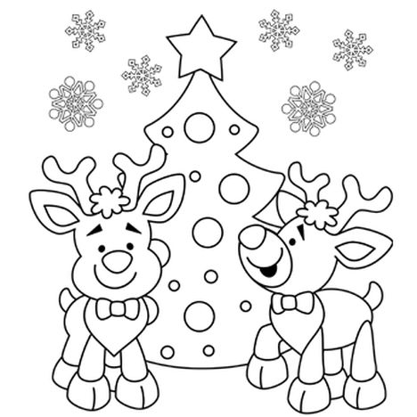 Letter To Santa Coloring Page 10