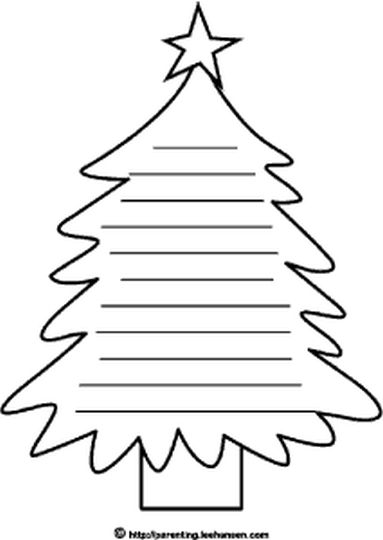 Letter To Santa Coloring Page 12