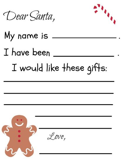 Letter To Santa Coloring Page 39