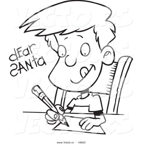Letter To Santa Coloring Page 41