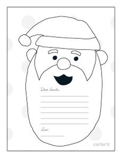 Letter To Santa Coloring Page 46