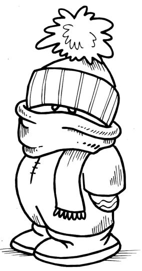 Minion Christmas Coloring Pages 15