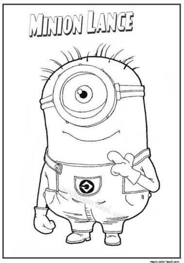 Minion Christmas Coloring Pages - Part 2