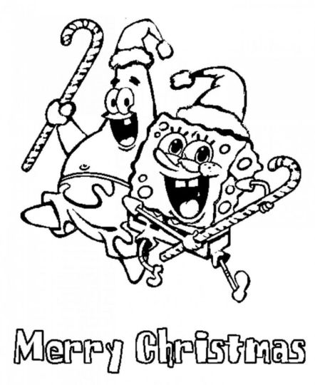 Minion Christmas Coloring Pages 2