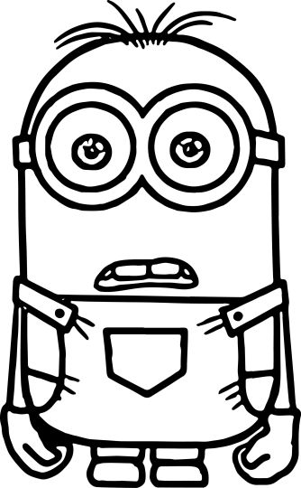 Minion Christmas Coloring Pages 21