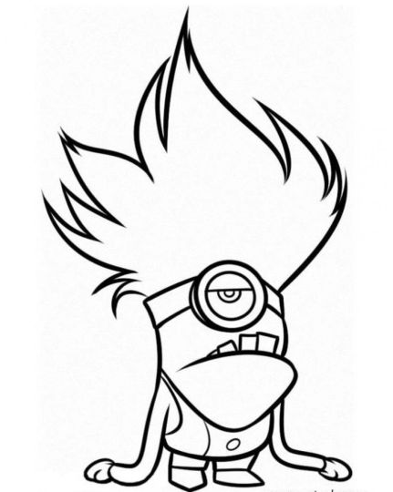 Minion Christmas Coloring Pages 26