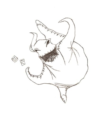 Oogie Boogie Coloring Page 16