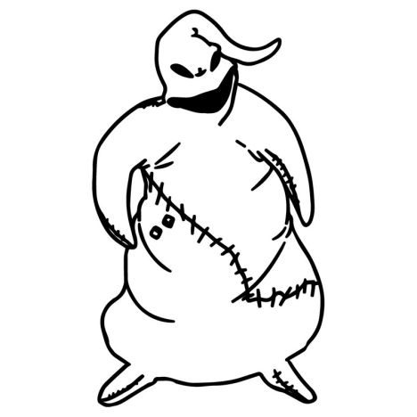 Oogie Boogie Coloring Page 3