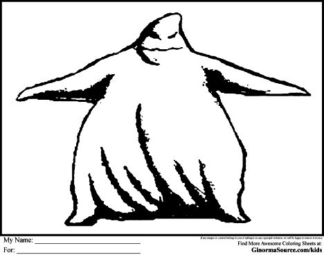 Oogie Boogie Coloring Page 5