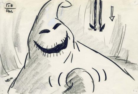 Oogie Boogie Coloring Page 7