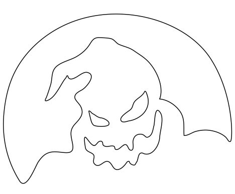 Oogie Boogie Coloring Page 9