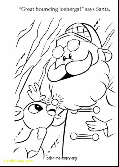 Reindeer Face Coloring Pages 39