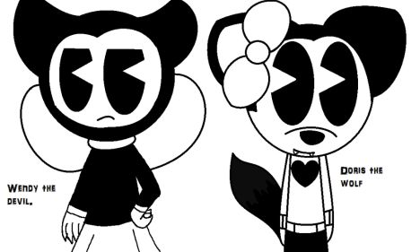 Bendy And The Ink Machine Coloring Pages 16