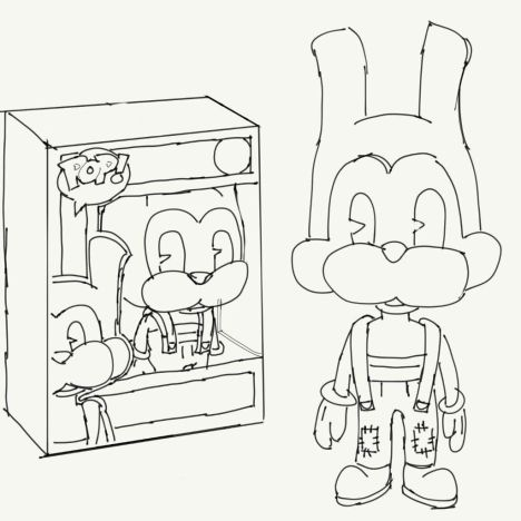 Bendy And The Ink Machine Coloring Pages - Part 3