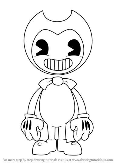 Bendy And The Ink Machine Coloring Pages 23