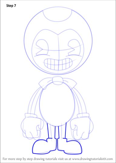 Bendy And The Ink Machine Coloring Pages 24