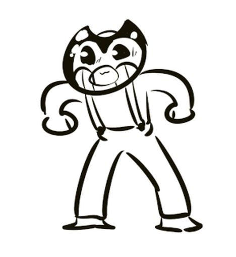 Bendy And The Ink Machine Coloring Pages 6