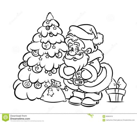 Christmas Doodle Coloring Pages 37