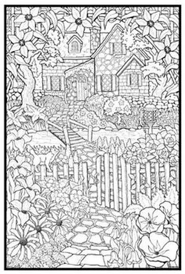 Christmas Doodle Coloring Pages 46