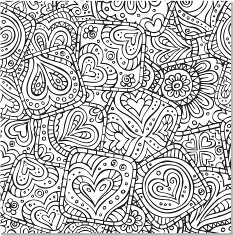 Christmas Doodle Coloring Pages 48