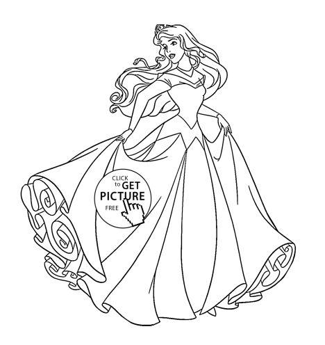 Disney Princess Christmas Coloring Pages 13
