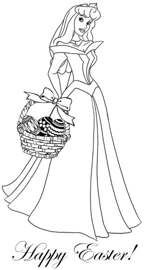 Disney Princess Christmas Coloring Pages 49