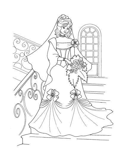 Disney Princess Christmas Coloring Pages 50
