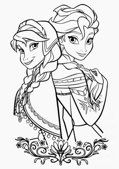 christmas princess coloring pages - photo#22